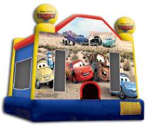 Kids will jump love jumping in this Disney Cars jumper. Reserve your rental today!